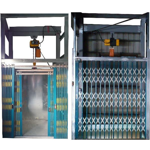 雙速鍊條吊車貨梯 Two-speed Chain Crane Freight Elevator
