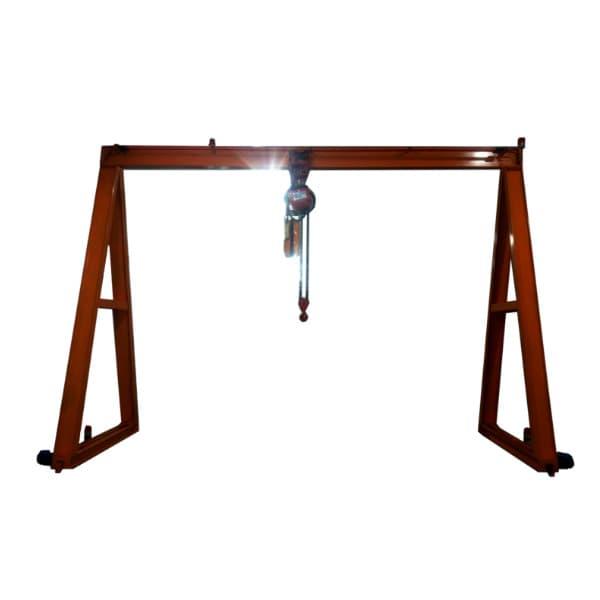 單軌式2.8Ton龍門天車 Single Girder Gantry Crane 2.8 Ton (Portal crane or Goliath crane)